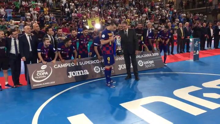 El Barça Lassa se lleva la Supercopa de España