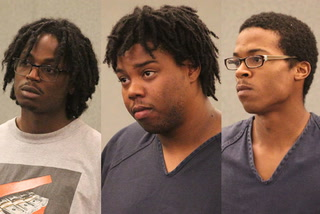Suspects in Lee's Liquor killing make first court appearance