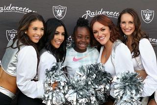 Raiders helping high schools kickoff their football seasons