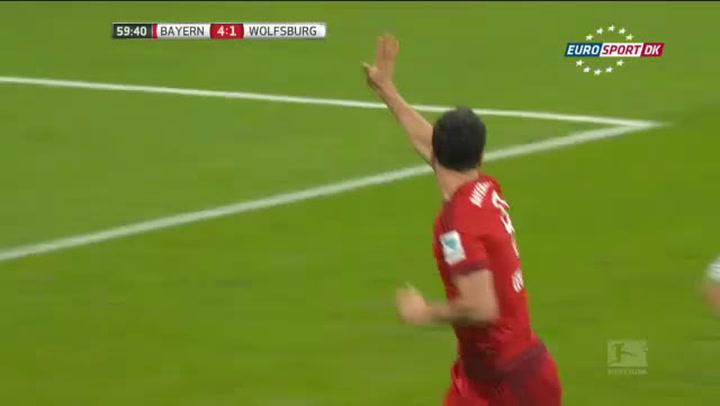Husker du? Vanvittige 5 mål på 9 minutter af Lewandowski