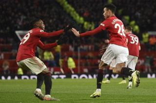 Manchester United sufre para empatar a Everton en el Old Trafford por la Premier League