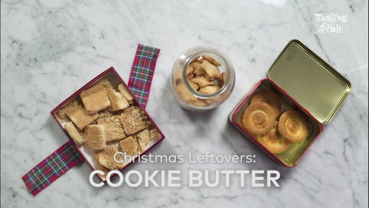 Christmas Leftovers: Cookie Butter