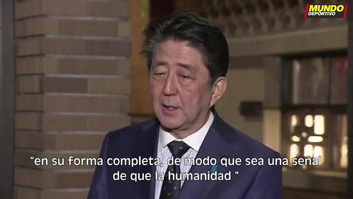 Shinzo Abe, Primer Ministro nipón, confirma que los Juegos Olímpicos de Tokio se posponen a verano de 2021