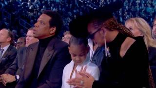 Klippet av Beyoncé og Jay Zs datter går viralt
