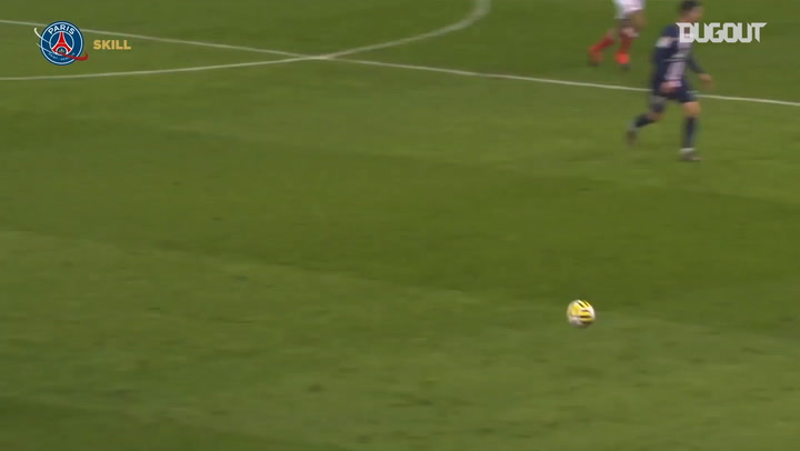 Neymar Jr's amazing passes vs Stade Reims