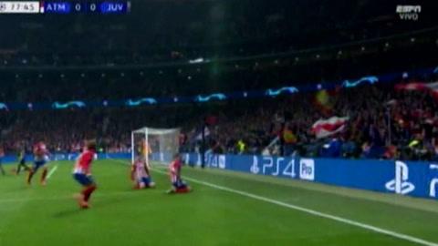 Atlético Madrid 2 - 0 Juventus (Uefa Champions League)