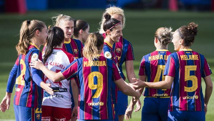 9-0: Goleada sin piedad del Barça al Santa Teresa y récord para Jenni