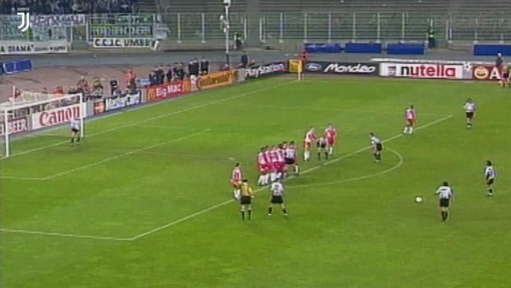 El hat-trick de Alessandro Del Piero ante el AS Mónaco