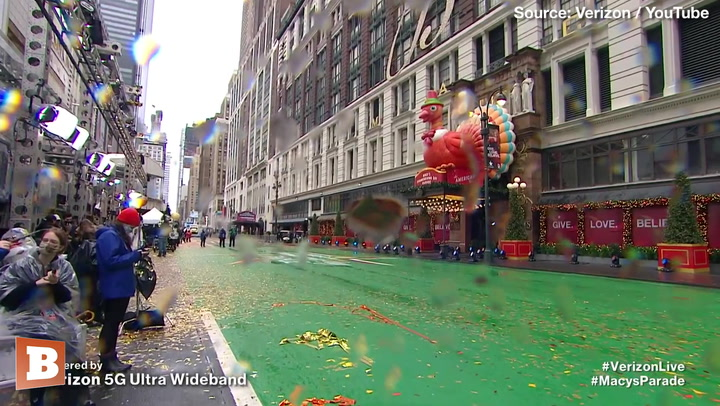 2020 Macy's Thanksgiving Day Parade Held with Practically No Audience