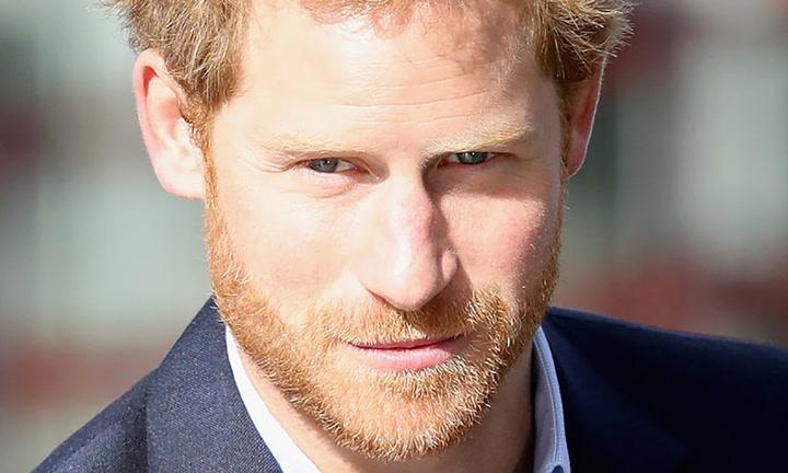 Un retrato del príncipe Harry