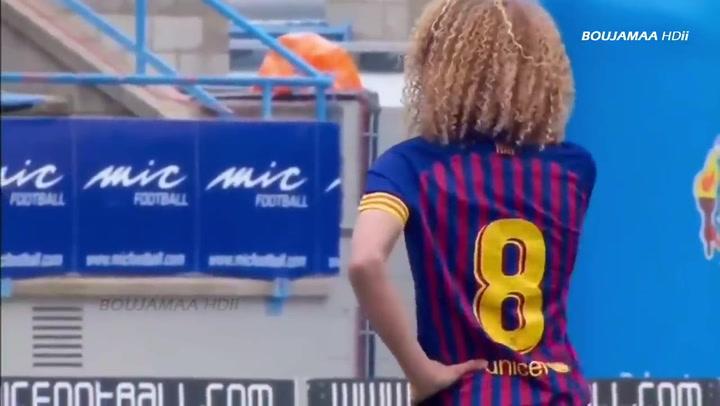Xavi Simons, un crack en ciernes en la cantera del Barça