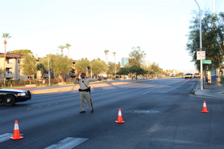 Pedestrian killed trying to cross Sahara