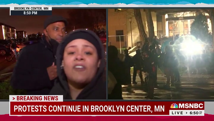 Watch: NBC Reporter Shoved, Cursed At by Minnesota Protesters