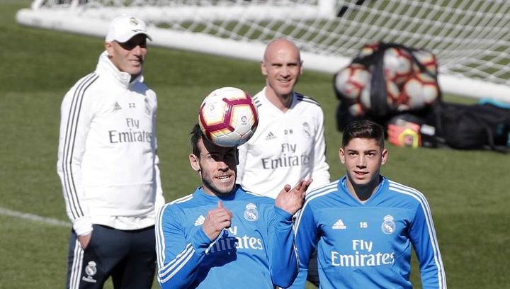 El Real Madrid prepara el encuentro ante el Athletic