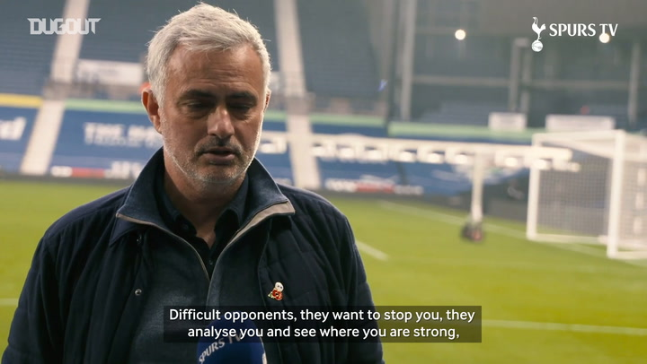 Jose Mourinho analyses West Brom win