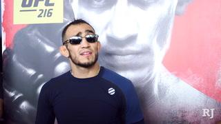 Tony Ferguson UFC 216 open workout