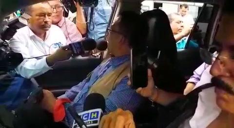 Declaraciones del diputado Bartolo Fuentes tras ser deportado de Guatemala
