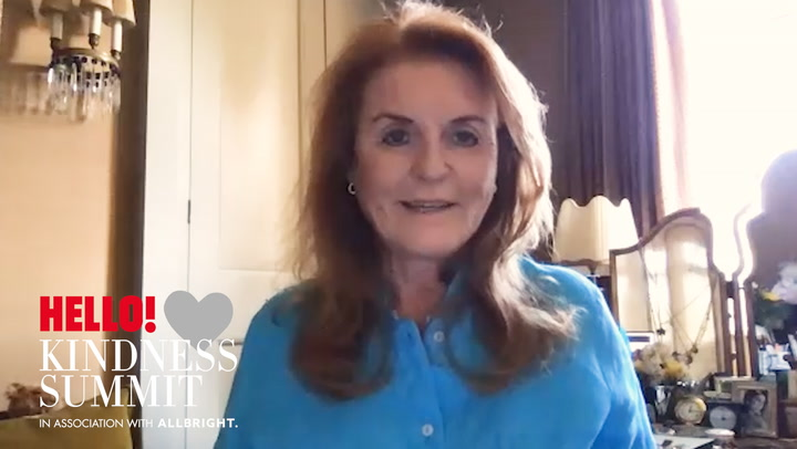 Rosie Nixon speaks to Sarah, Duchess of York about Kindness