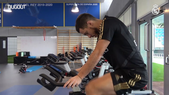 Eden Hazard's recovery from injury