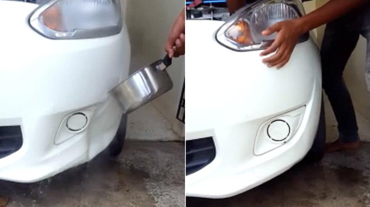 Genialt triks om du bulker bilen