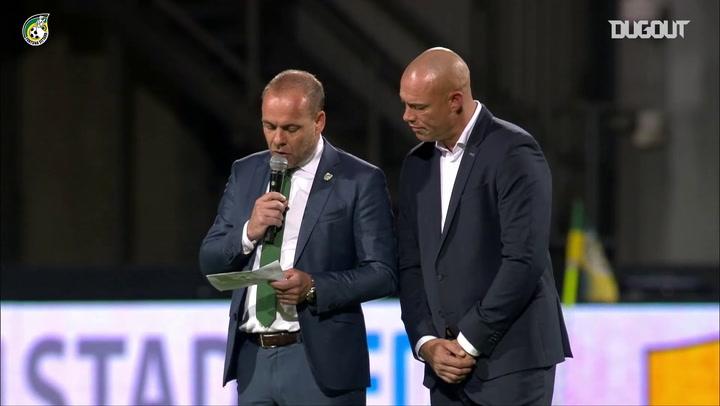 Fernando Ricksen é homenageado pelo Fortuna Sittard