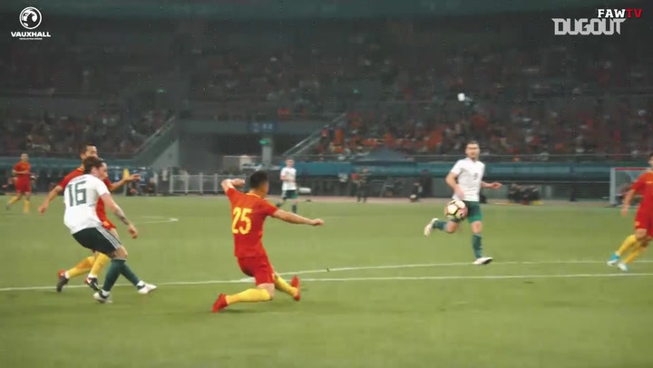 Harry Wilson Goal Lights Up China!