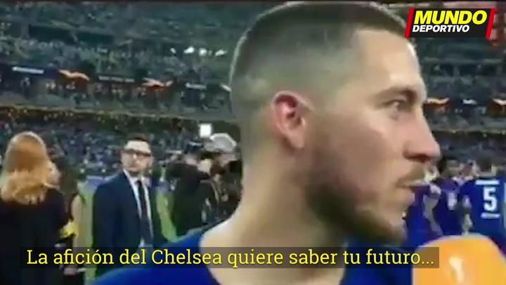 """Hazard: """"Creo que es el momento para nuevos desafíos"""""""