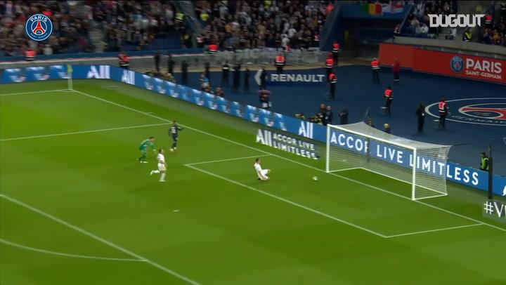 El gol de Neymar que culminó una gran jugada del PSG