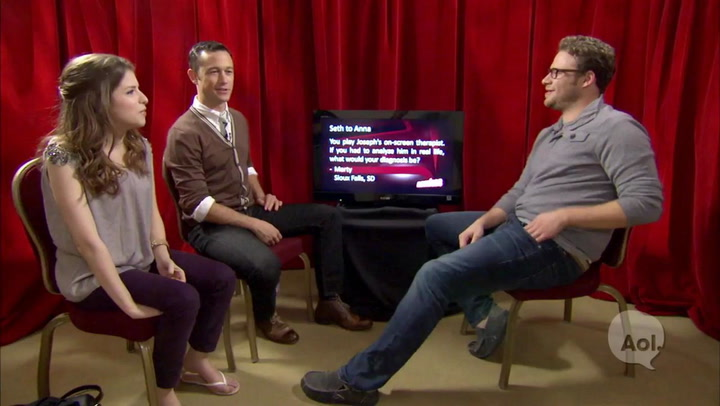 Unscripted: Interview With Cast of 50/50 - Full Interview