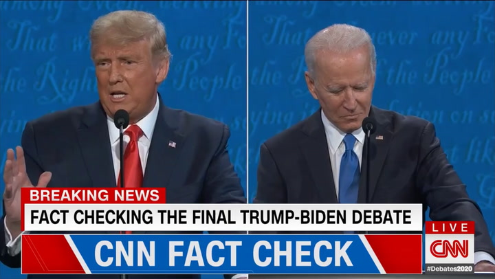 CNN's Dale: 'False for Biden to Say That He Never Said He Opposed Fracking'
