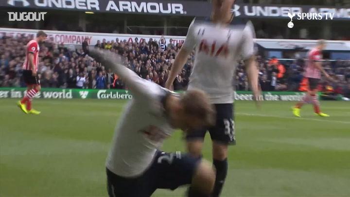 Spurs' Top Five Southampton Strikes