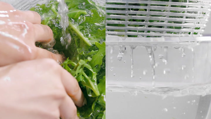 Preview image of OXO Little Salad And Herb Spinner video