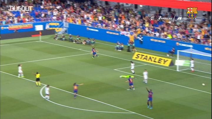 HIGHLIGHTS: Barça Women 9-1 CD Tacón