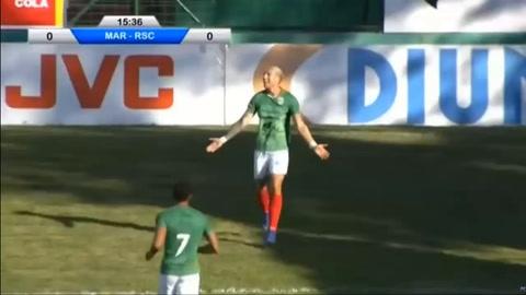Ryduan, hijo de Martín Palermo, marcó su segundo gol con la camiseta del Marathón