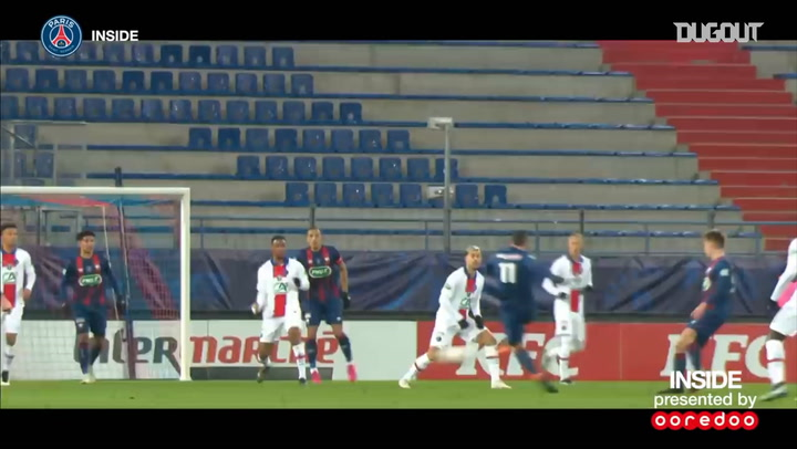 PSG qualification against Caen in the French cup