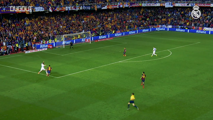 Incredible Goals: Gareth Bale Vs FC Barcelona In Copa Del Rey