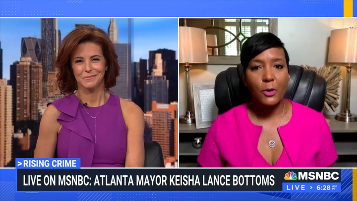 Atlanta Mayor Bottoms: Crime Spike Partially Due to Georgia Opening Early, 'We Had People Traveling Here'