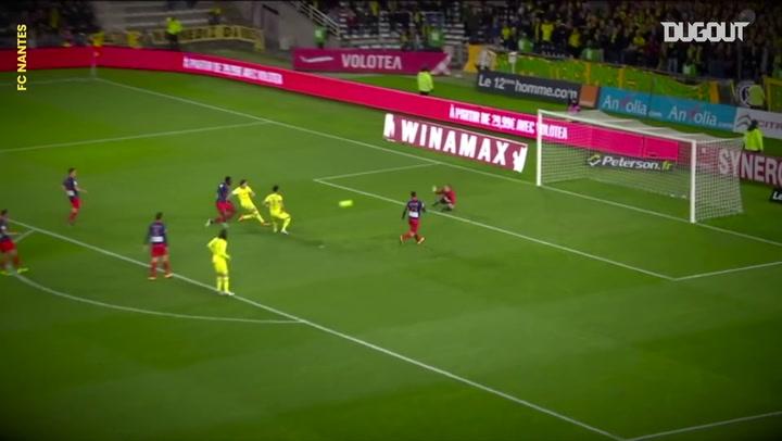 Todos los goles de Emiliano Sala con el Nantes en Ligue 1