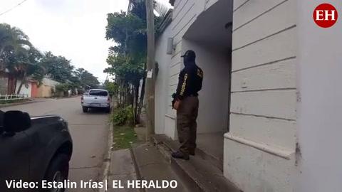 Autoridades realizan allanamientos en propiedades de Roosevelt Avilez, alcalde de Talanga