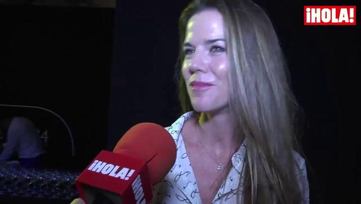 Amelia Bono: \'Este verano lo hemos pasado descansando y disfrutando mucho del pequeñín\'