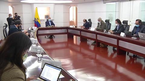 Duque exige cese de bloqueos en el marco de las protestas masivas en Colombia