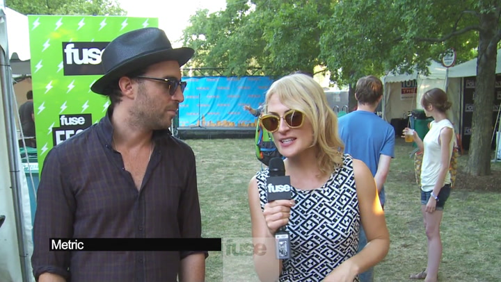 Festivals: Lollapalooza: Metric Tell Us About Their New BFF, Lou Reed
