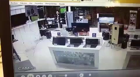 Casa Rizzi busca a los hackers que reprodujeron una porno en su vidriera