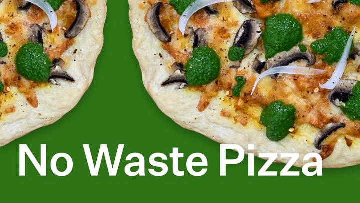 Easy Homemade Pizza Using Leftover Veggies