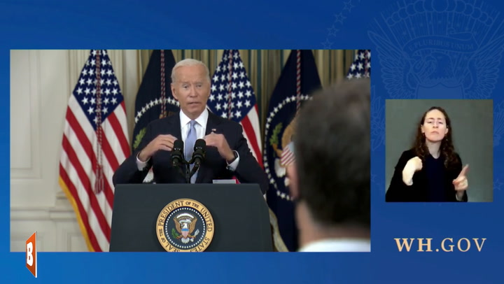 Brain Freeze: Biden Says