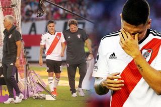 Juanfer Quintero se lesiona de gravedad y conmueve a River y a Colombia