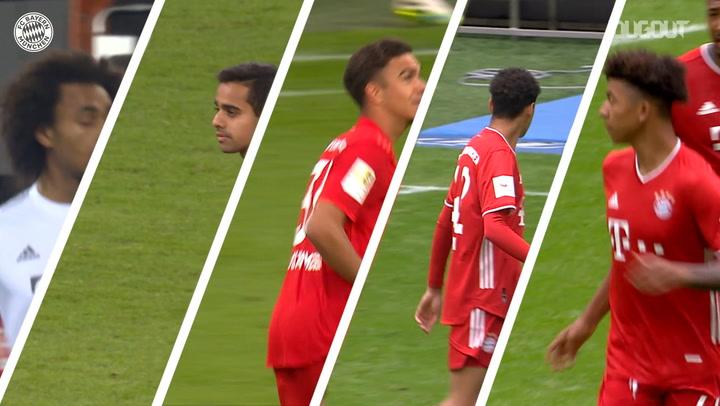 Bayern Münih Akademisi'nin 2019-20 Mezunlarının A Takımdaki İlk Maçları