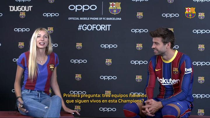 7 Second Challenge con Gerard Piqué