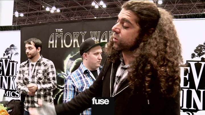 Coheed and Cambria At New York Comic Con