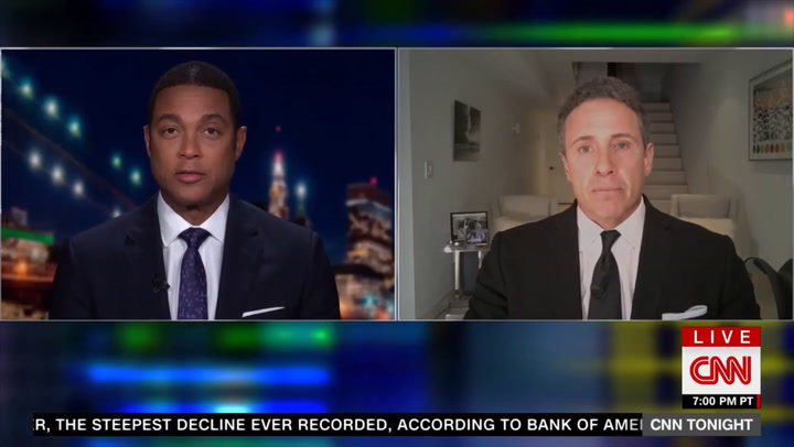Watch: CNN's Lemon Opposes Taking Coronavirus Briefings Live, Cuomo Pushes Back
